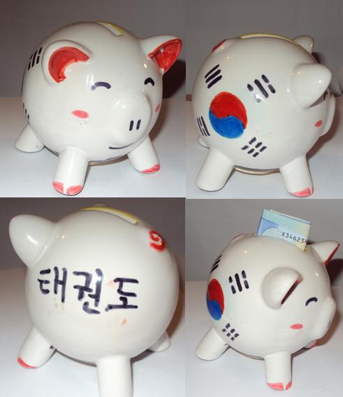 Korean Piggy Bank by SwallowCaptSwallow