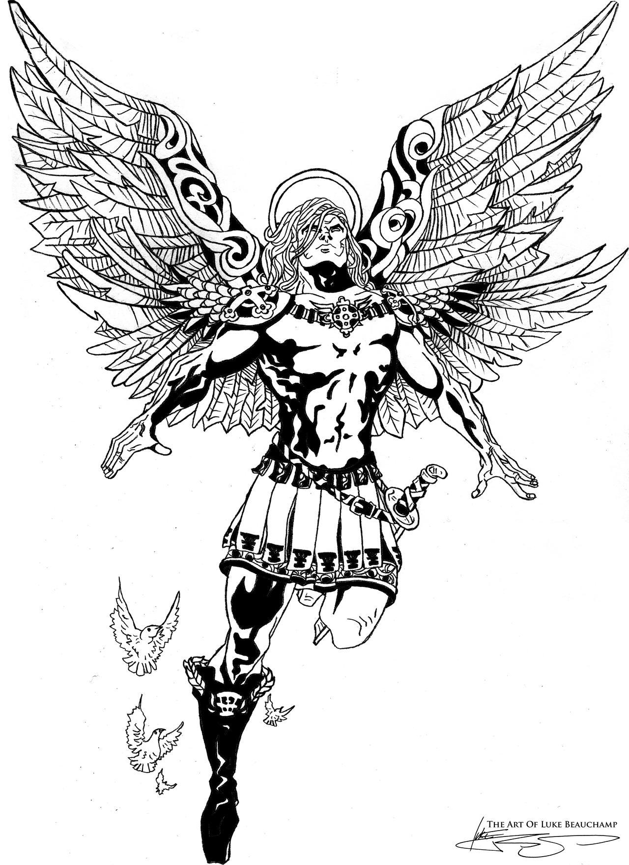 Archangel Michael by Beauchal on DeviantArt