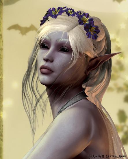 Elza Moonsong by darchiel