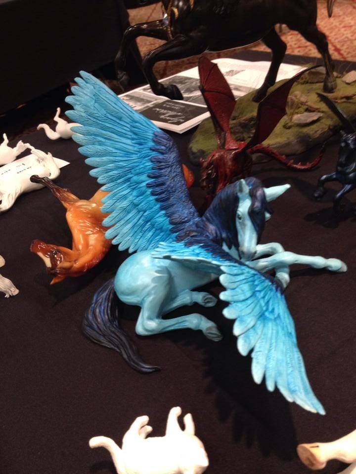 Kingfisher Alicorn by darchiel