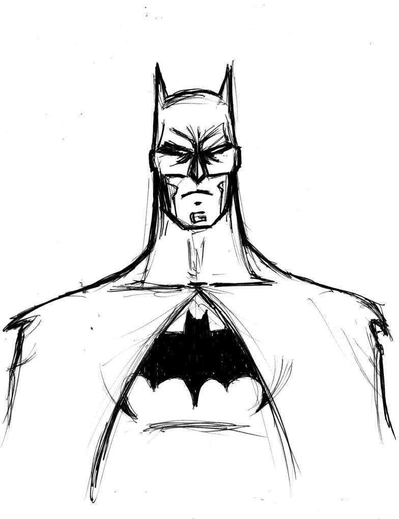 Norby Ela Batman Quick Sketch