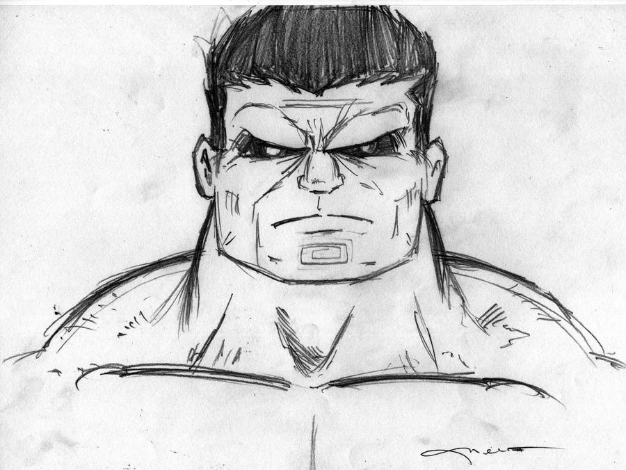 Drawings of Red Hulk images