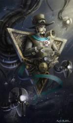 Steampunk sorcery by xKyrillx