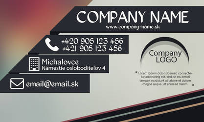 Business Card1 by dopesvk