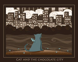 Cat and the chocolate city