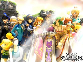 Smash Queens!! by Hanxulz