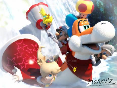 Super Mario 3D World: Ending