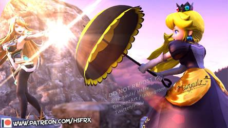 Mytra VS Peach: Light Battle