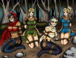 D4: dungeons, dragons, damsels, distress