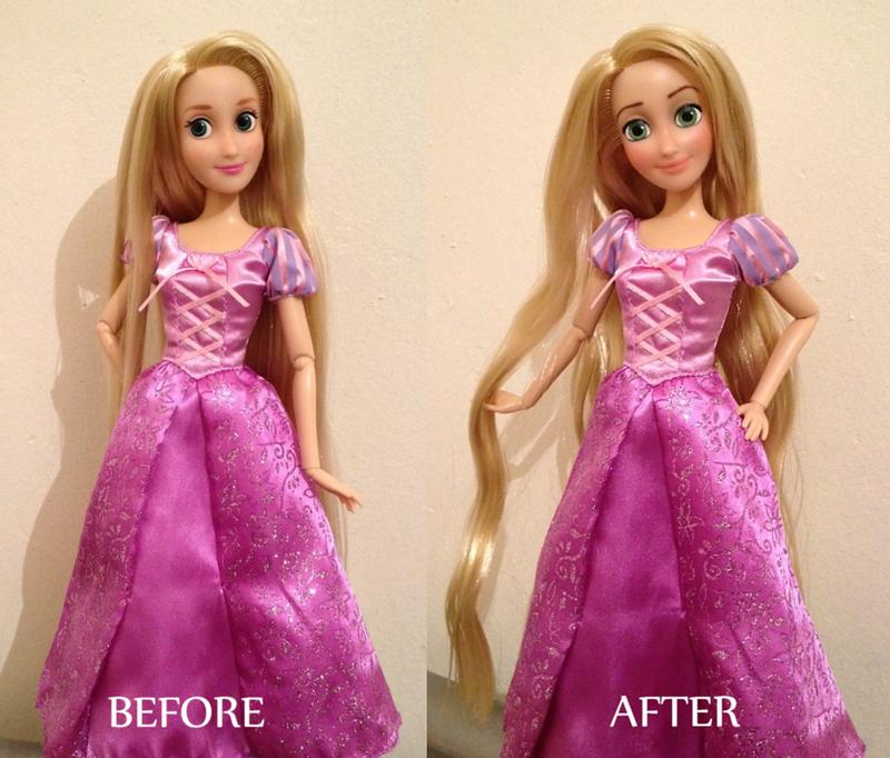 Rapunzel OOAK Doll by frozenblume