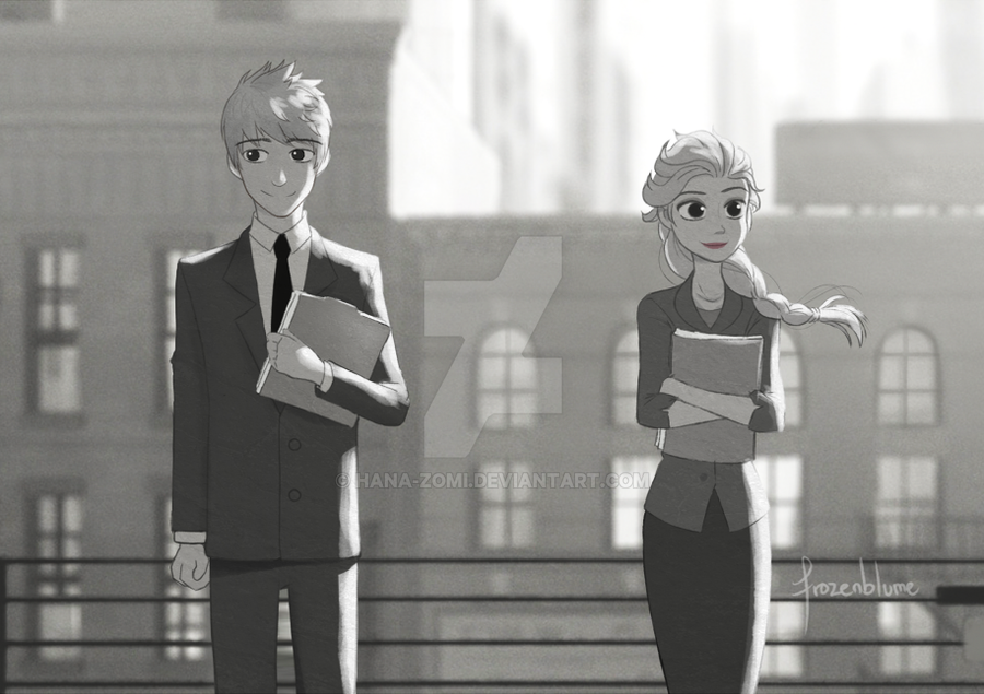 Paperman (Jelsa) by frozenblume