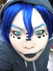 Matryoshka make up Trial by enchantingnocturne