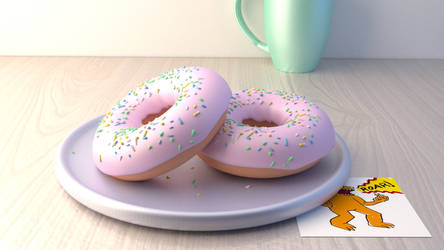 Final Donuts by Corkhead