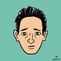 Face#2 - Adrien by Corkhead