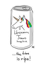 Unicorn Tears by Corkhead