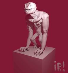 Giant Sculpt by Corkhead