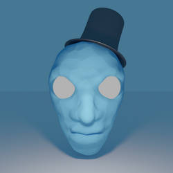 Blue Head by Corkhead
