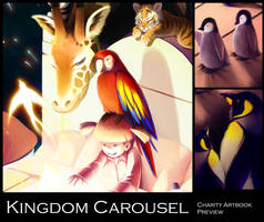 Kingdom Carousel Charity Artbook Preview by ruina