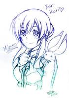 Sketch: Mikono by ruina
