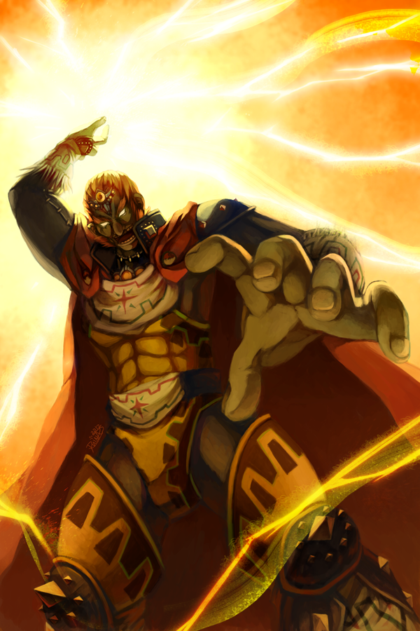 Ocarina of Time: Ganondorf by ruina