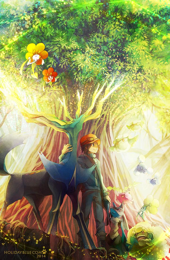 Pokemon X: Xerneas by ruina
