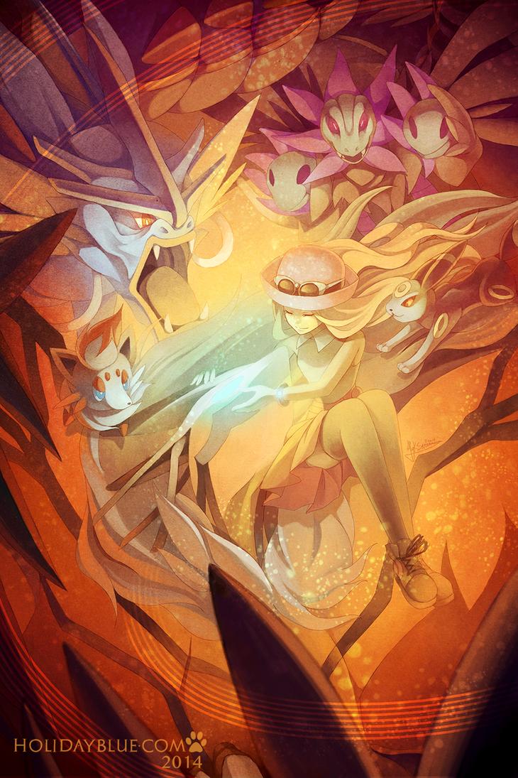Pokemon Y: Yveltal by ruina