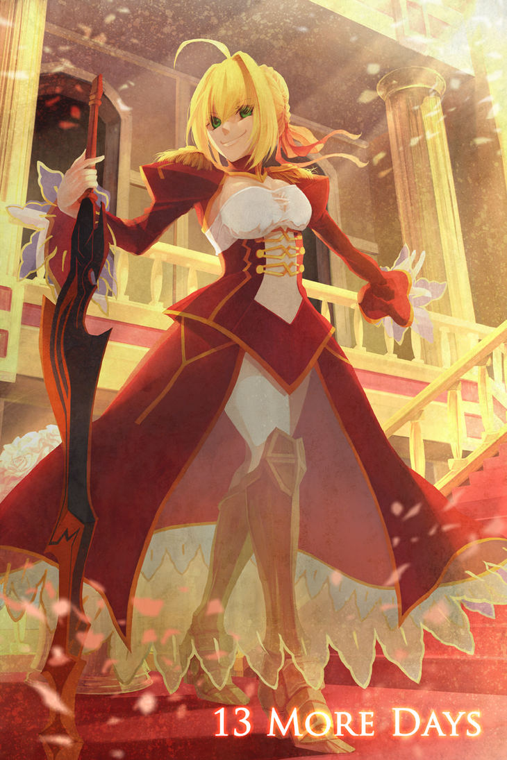 fgo  nero claudius by ruina on deviantart