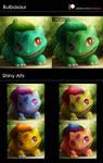 Shiny Alts: Bulbasaur
