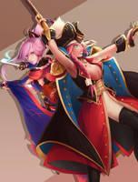 FGO: Drake and Musashi