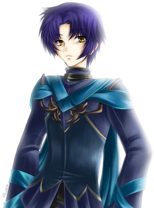 Origi - Purple-haired kiddo by ruina