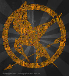 Mockingjay Typography by Kaostic