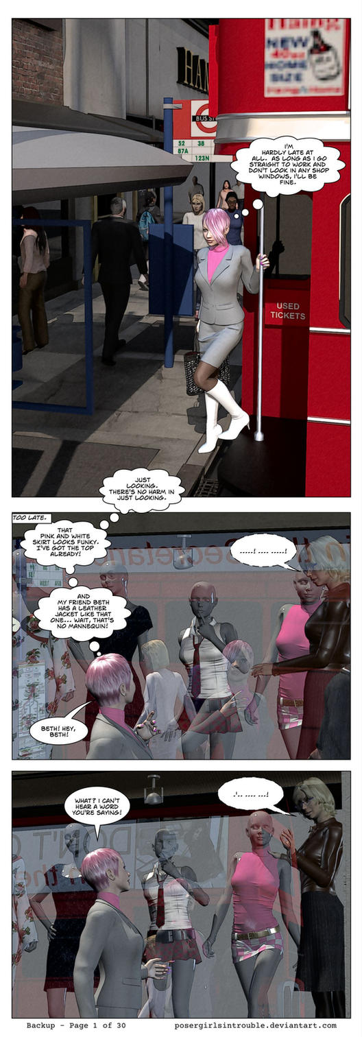 Backup - Page 01 by PoserGirlsInTrouble