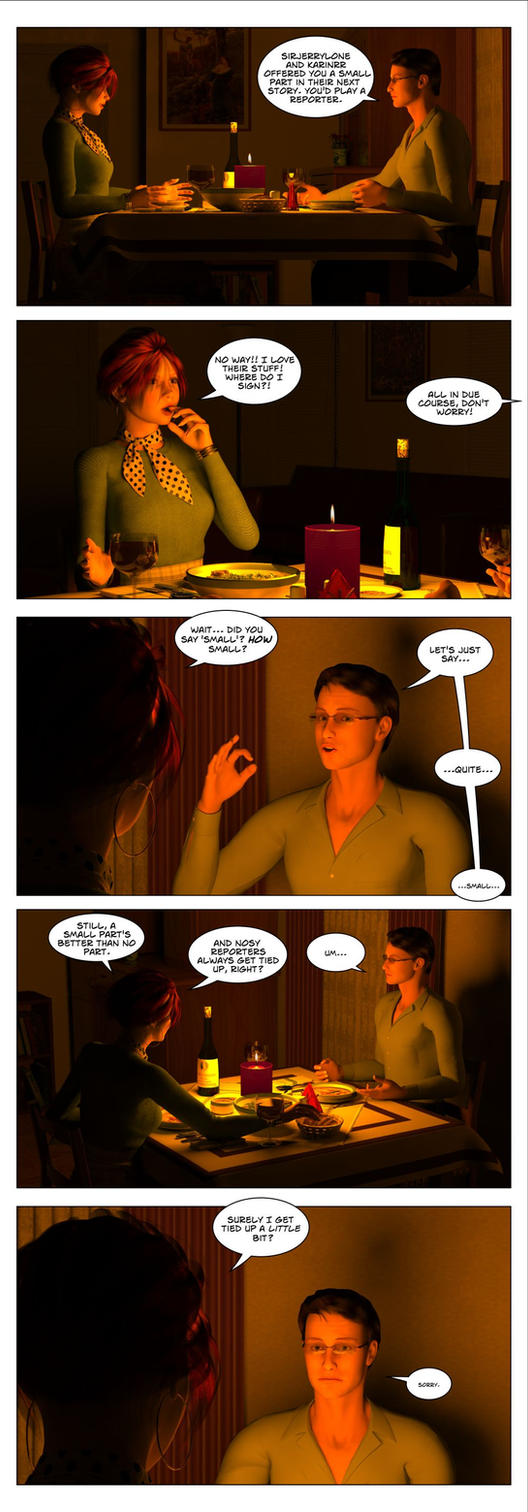 Roxy by Candlelight, Page 2 by PoserGirlsInTrouble
