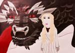 Drogon+Daenerys by Destiny1234567
