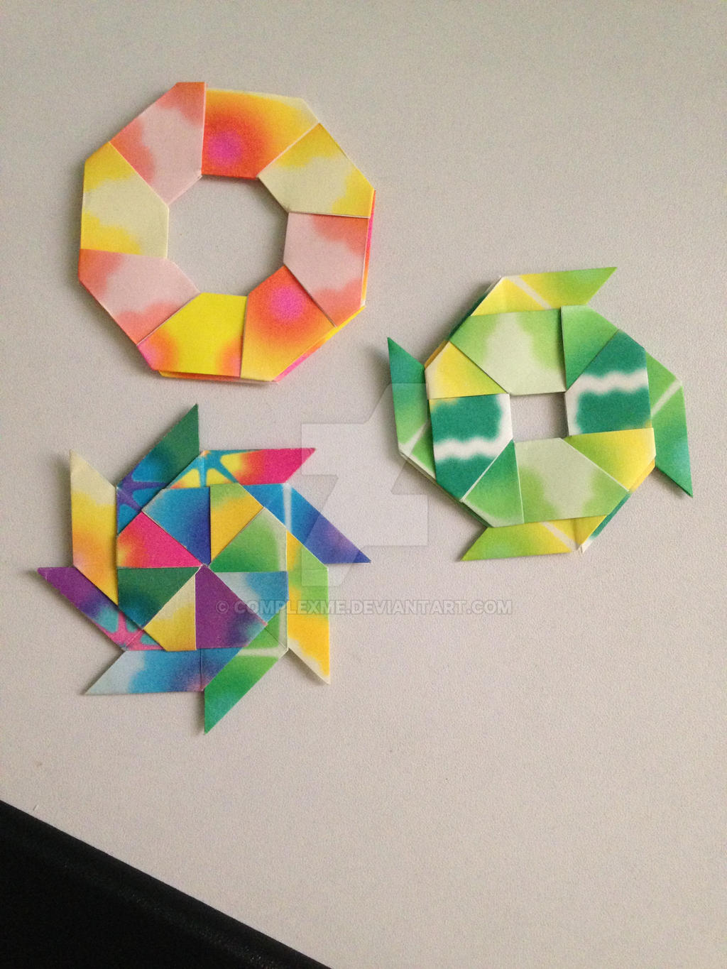 how to make a transforming ninja star 8 pointed www