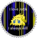I love Joltik - Stamp by BachuruJoltik