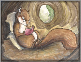 The Telligent Squirrel by TypoCity