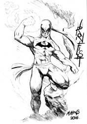 Ironfist.....CANT WAIT FOR THE NETFLIX SERIES!!!!!