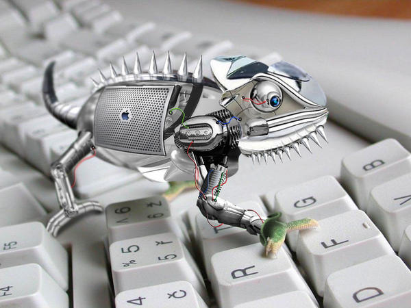 Cyber Chameleon by putio