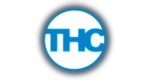 Glowing THC Logo by THCDrawings