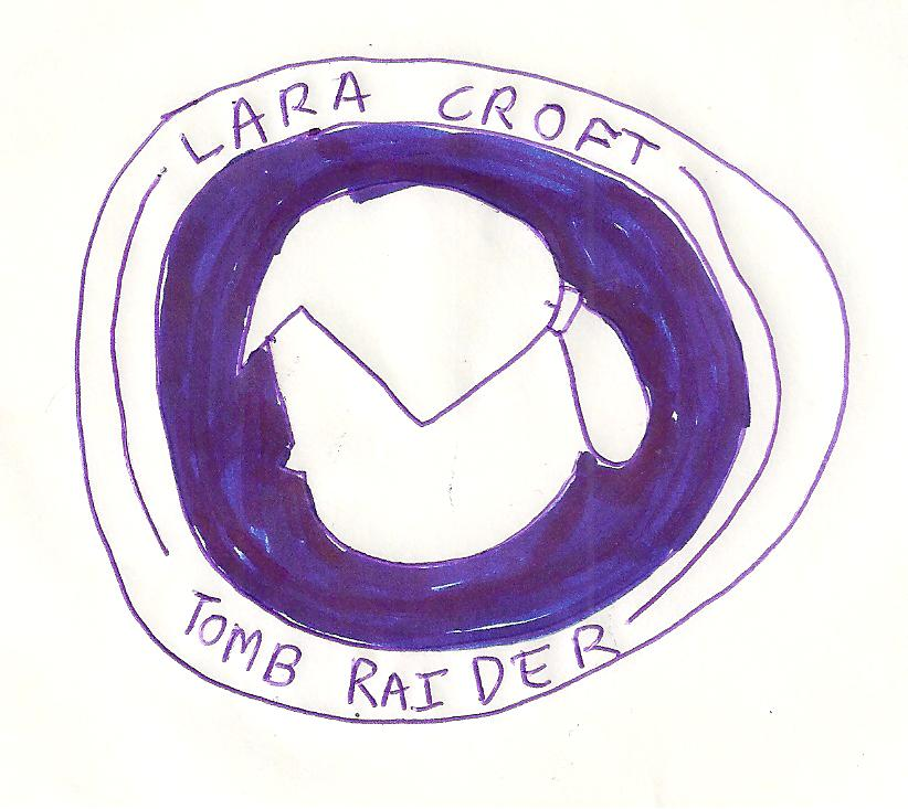 Lara Croft Tomb Raider logo symbol by dth1971