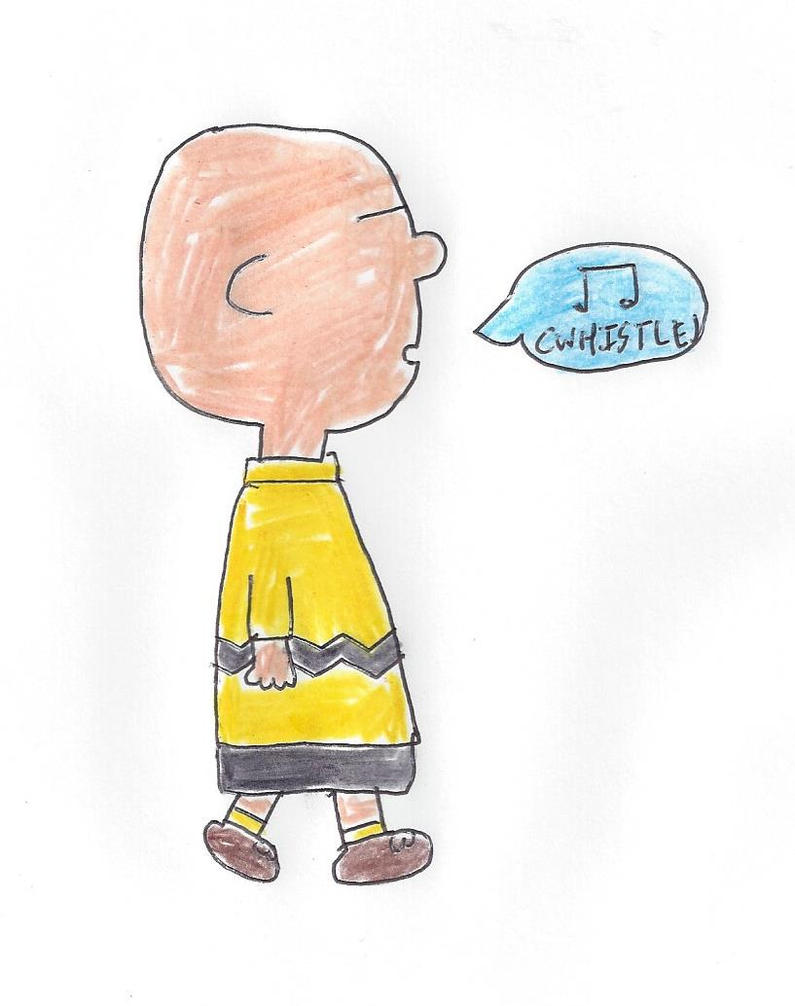 Charlie Brown whistles a tune by dth1971