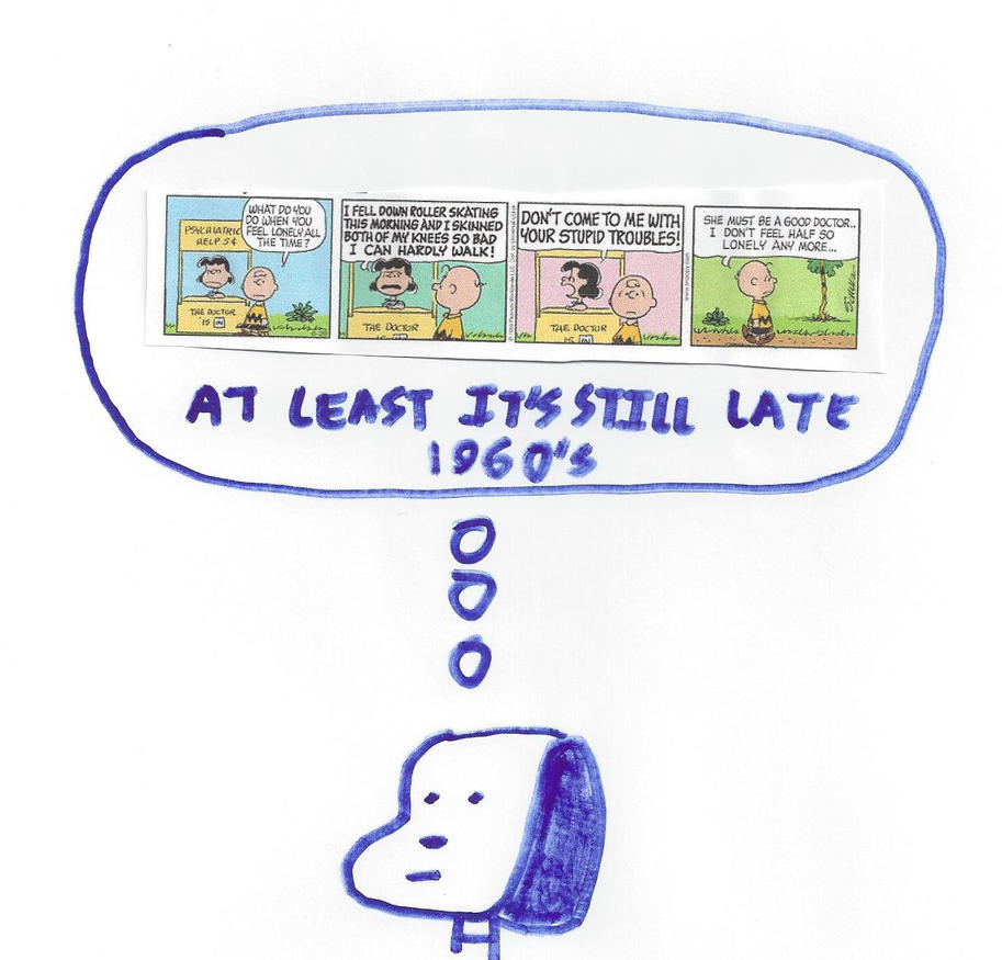 Snoopy - At least it's still late 1960's by dth1971