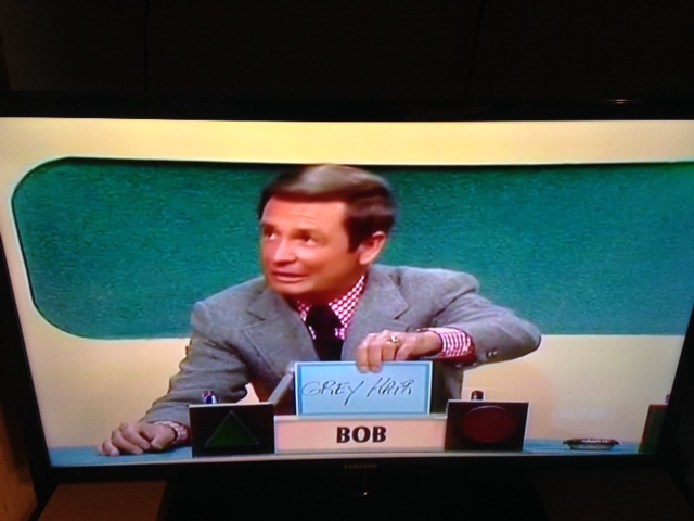 Bob Barker on the Match Game 1973 panel by dth1971