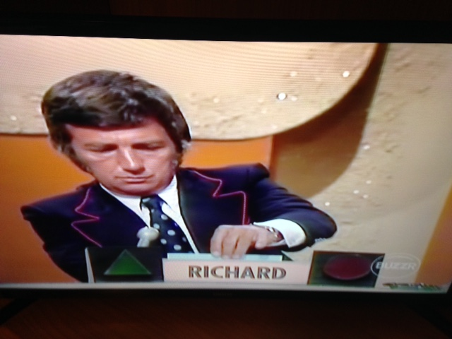 Richard Dawson on week #2 of Match Game 1973 scene by dth1971