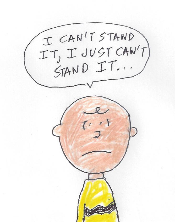 Charlie Brown - I just can't stand it by dth1971