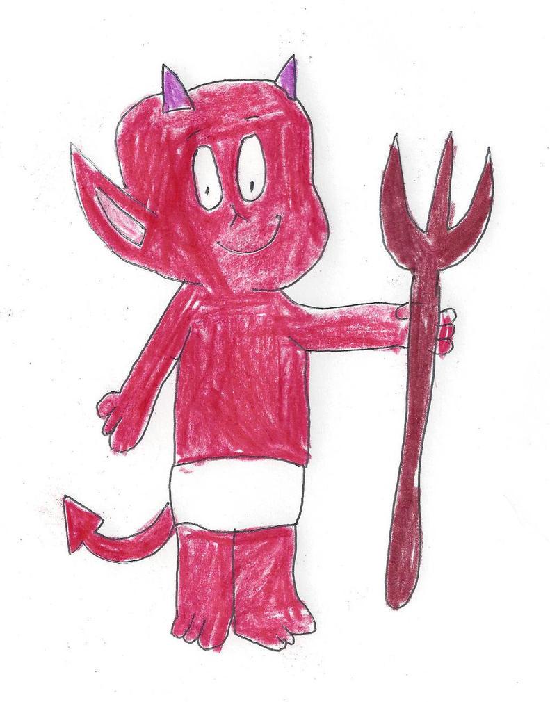 Hot Stuff The Little Devil by dth1971