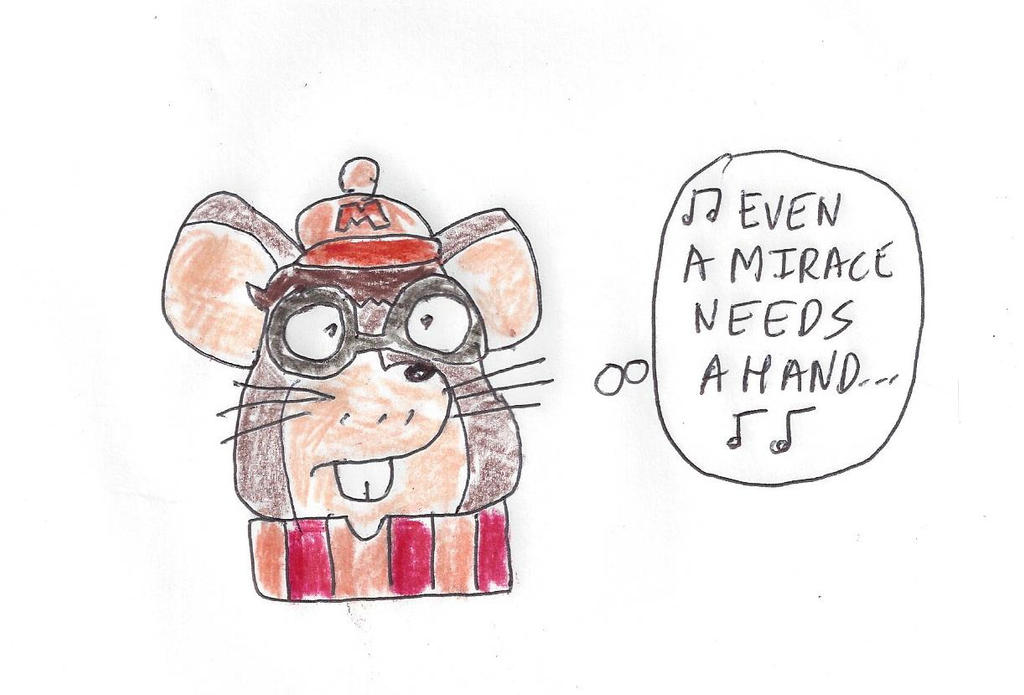 Albert the Mouse - Twas the Night Before Christmas by dth1971