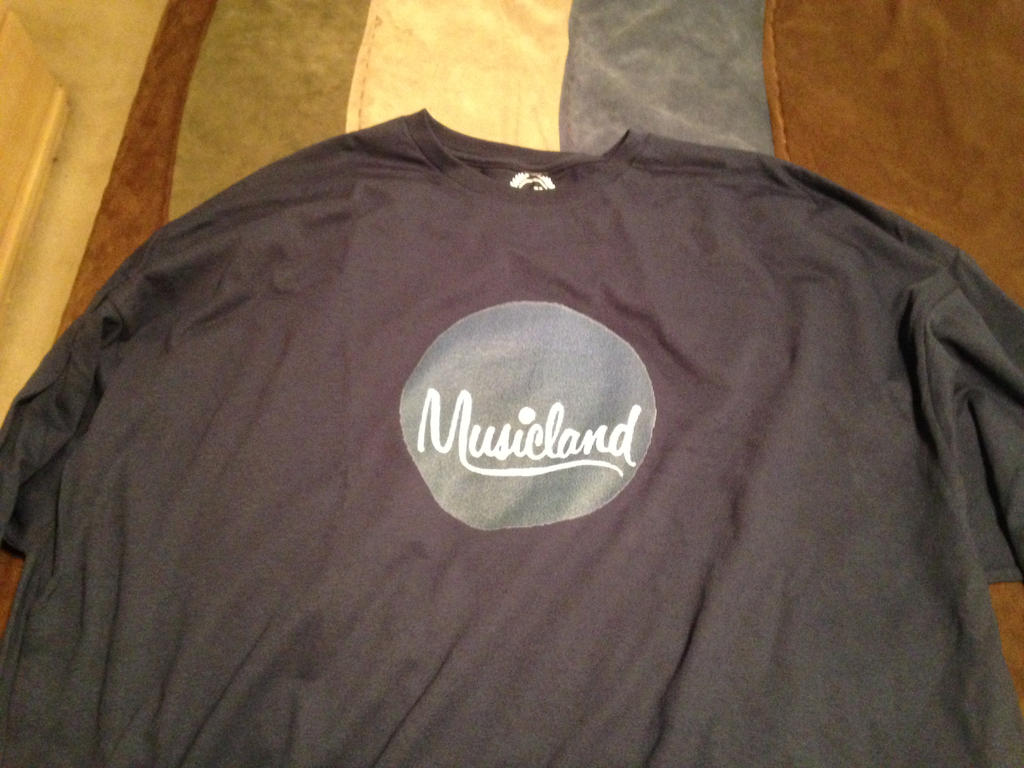 Musicland 1959-1975 logo T-shirt by dth1971