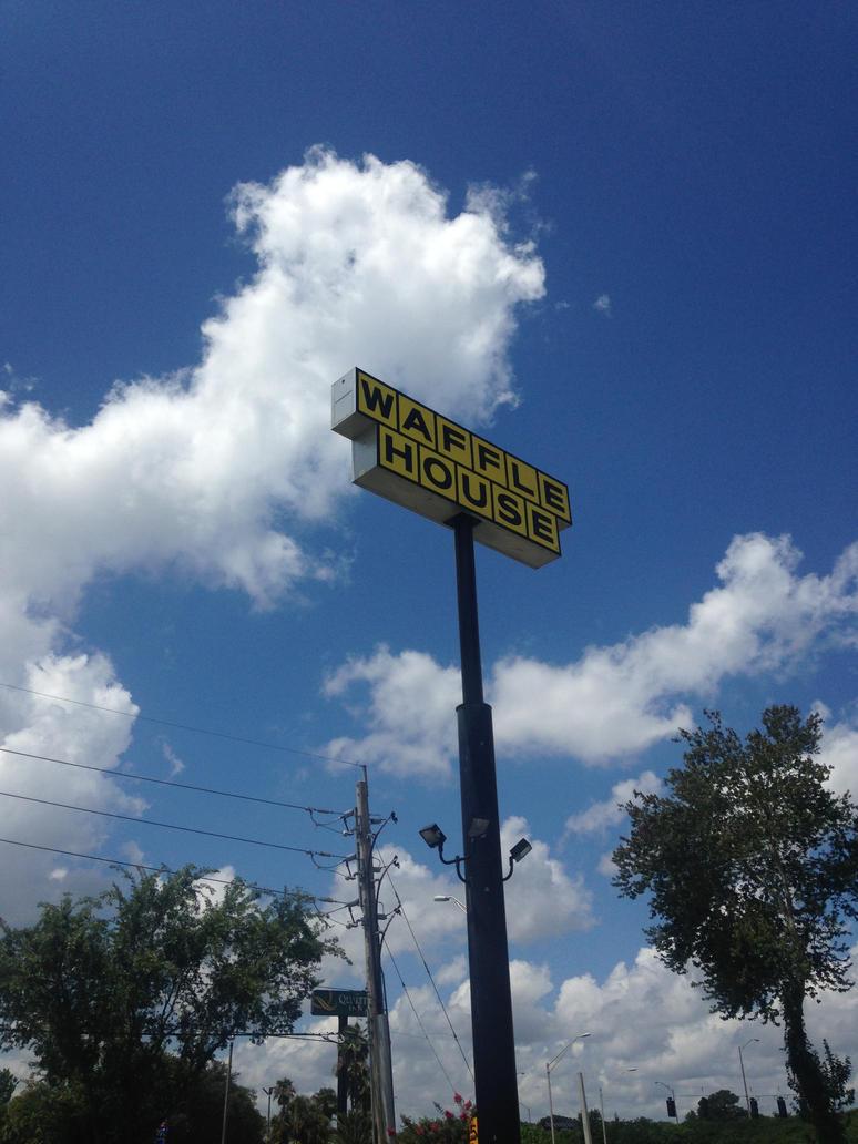 Waffle House sign by dth1971